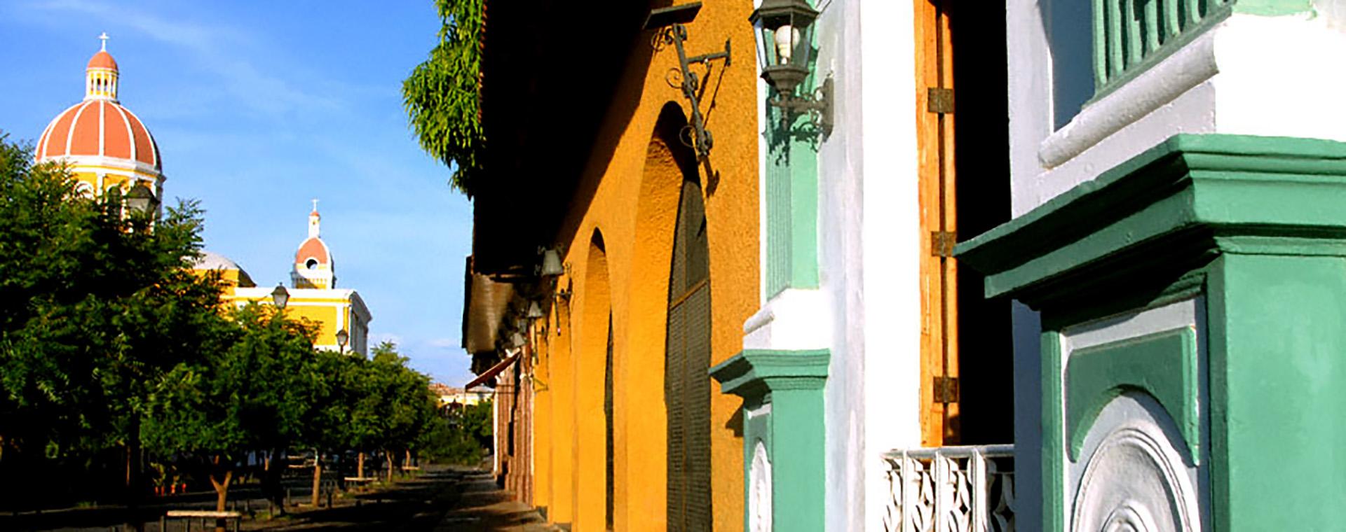 BioTrek Adventure Travel Tours - Nicaragua Granda Street
