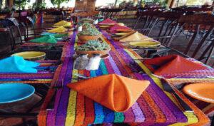 Guatemala Lake Atitlan dining Biotrek Adventure Travel Tours