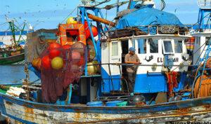 Morocco boat Biotrek Adventure Travel Tours