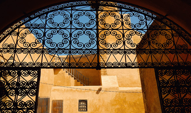 Morocco iron gate Biotrek Adventure Travel Tours