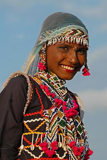 India girl BioTrek Adventure Travel Tours