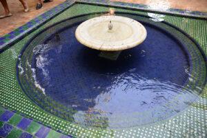 Fountain at Jardin Majorelle