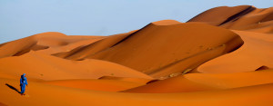 BioTrek Adventure Travel Tours - Morocco desert sand