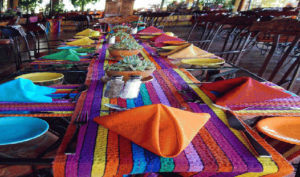 Guatemala Lake Atitlan dining Biotrek Adventure Travel Tours