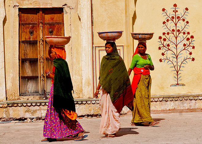 India women BioTrek Adventure Travel Tours