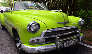 Cuba Havana antique cars Biotrek Adventure Travel Tours