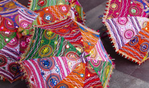 colorful streets of India Biotrek Adventure Travel Tours