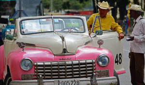 Cuba's Antique Cars.