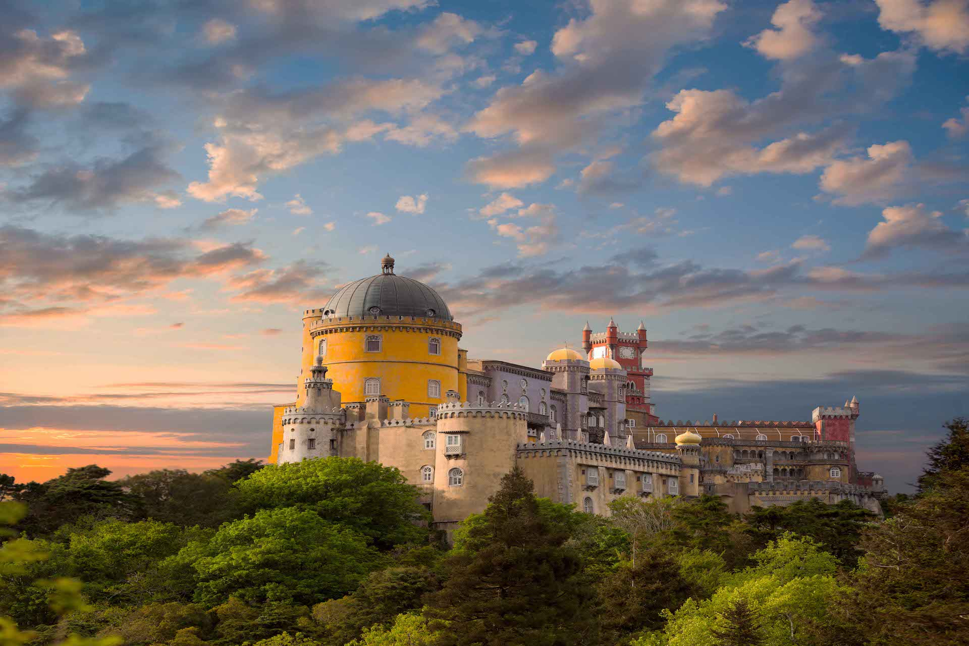 Pena Palace Sintra Portugal