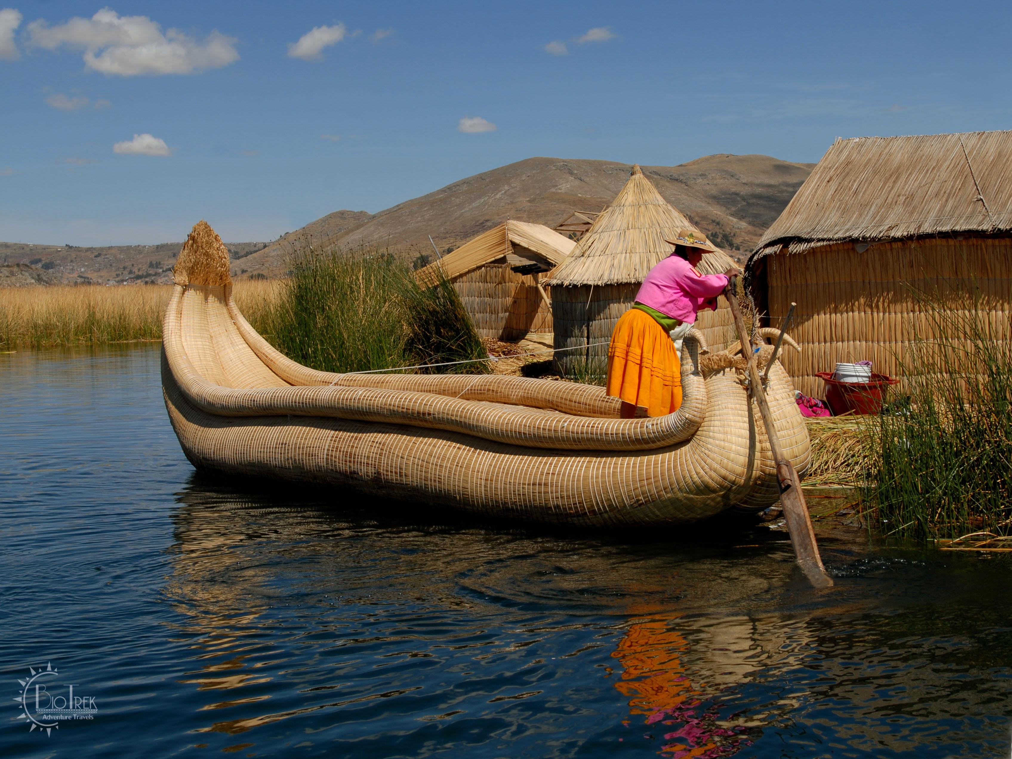 Peruvian Reed Boat